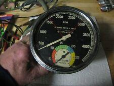 New ListingSuper Rare Stewart Warner Tachometer Vacuum Gauge