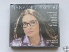 "DOUBLE CD NANA MOUSKOURI ""VERSIONS ORIGINALES"" 2 CD, 36 TITRES, TRES BON ETAT"
