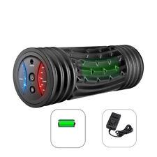 Vibrating Foam Roller Massager 5 Speeds Foam Rolling Training for Shoulders Hips