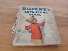 RUPERT ANNUAL 1940 - RUPERT'S ADVENTURE BOOK - Bestall, Alfred. Illus. by Bestal