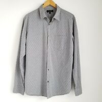 Banana Republic Slim Fit Button Up Shirt Mens L Long Sleeve Light