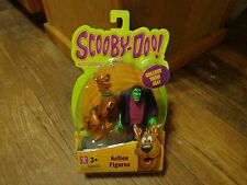 SCOOBY DOO!--FRIGHTFACE SCOOBY AND FRANKENSTEIN'S MONSTER FIGURES (NEW)