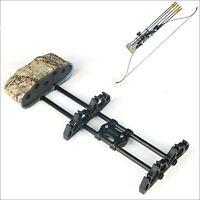 5 Arrows Quick Release Quiver Archery Arrows Holder  Arrow Storage Compound Bow