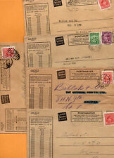 Canadian National Express Canada 4 Old Covers Mailed