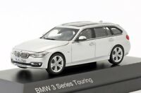 BMW 3 Series Touring Silver, official dealer model scale 1:43, new car mens gift