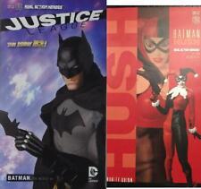 Medicom 1/6 Anime DC BATMAN and Harley Quinn HUSH Lot of 2 MIB