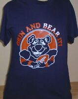 vintage 1980s Chicago Bears NFL Football t shirt size Medium 50/50 (fits Small)