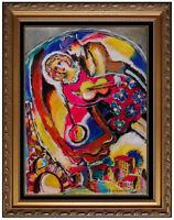 Zamy Steynovitz Original Oil Painting On Canvas Signed French Landscape Artwork