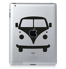 VW CAMPER. Apple iPad Mac T2 T4 Macbook Sticker Vinyl decal. Custom colour