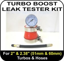 "TURBO BOOST LEAK TESTER Fits 2"" & 2.38"" (51 & 60mm) supercharger tool diagnostic"
