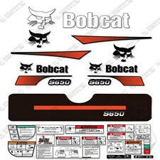 Bobcat S650 Compact Track Loader Decal Kit Skid Steer (Curved Stripes)