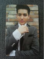 EXO M KRIS Official Photo Card 1st Repackage Ver.A Growl Korea Ver Wu Yifan