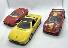 Ferrari Diecast Car Bundle - Maisto - Burago - Ferrari 348 - Ferrari F40
