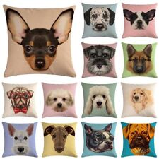 18'' Cute Animal Pillow Cover Throw Pillow Case Sofa Cushion Cover Home Decor