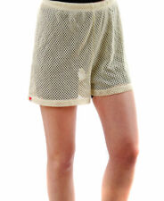 Wildfox Women's Mesh Shorts Roomy Fit Vintage Lace RRP$68 BCF62