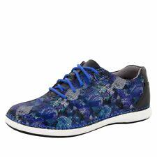 Alegria Essence Winter Garden Blue Floral Comfort Shoes ESS-314 SZ 37
