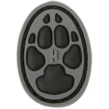"""PVC Morale Patch - MAXPEDITION - DOG FOOT PRINT TRACK  - 1 """" Inch - SWAT"""