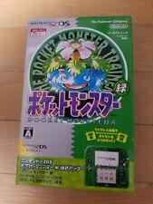 New Nintendo 2DS Pokemon Pocket Monster Green Limited Edition Pack From Japan