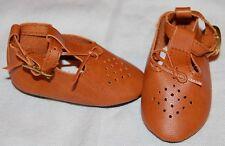 "DOLL Shoes, 69mm Brown Buckle Dress for SD* BJDs, Magic Attic, 18"" Ann Estelle"