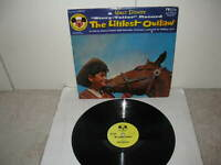 WALT DISNEY 78 RPM RECORD & PICTURE COVER  DBR-61  THE LITTLEST OUTLAW   1955