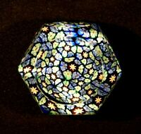 Beautiful Vintage Mini Milafori Paperweight
