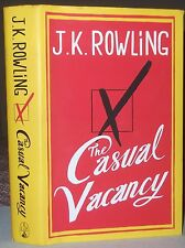 J.K.Rowling THE CASUAL VACANCY 1st Edition HB