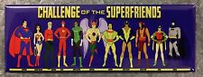 Challenge Of The Super Friends Fridge Magnet