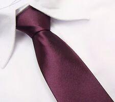 Kinder Jugend Kurz Schlips Schmal Krawatte SCHWARZ uni 130x5cm