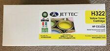 Jettec HP H322 Yellow LaserJet Toner Cartridge (CE322A) CP1525 CM1415