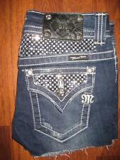 MISS ME Flap Pocket Cut Off Shorts JP5002-18...size 27