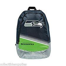 NFL Seattle Seahawks Green Stripe Core Backpack Back Pack