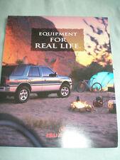 Isuzu range brochure 1996 USA market