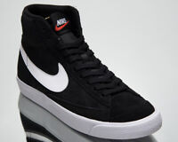 Nike Blazer Mid '77 Suede Men's Black White Casual Lifestyle Sneakers Shoes