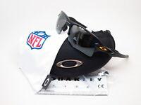 Oakley NFL Flak 2.0 XL OO9188-E359 Matte Black w/Prizm Black Steelers Sunglasses
