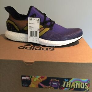 New ADIDAS x MARVEL Speedfactory Am4 THANOS Sneakers size 9 FV7917 Ultra Boost