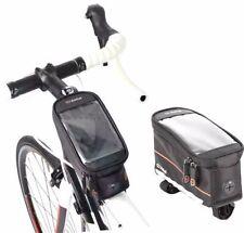Fundas y bolsas para el móvil negro para bicicletas