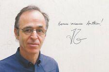 Autographe Original: JEAN JACQUES GOLDMAN.