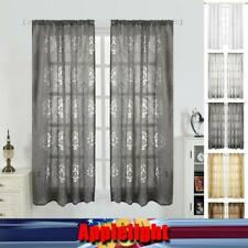1/2 Panels Morocco Window Screen Tulle Sheer Curtains for Living Room Home Decor