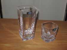 CRISTAL DE SEVRES *NEW* KEOS Set 2 Verres Glasses