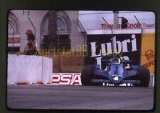 Jean-Pierre Jarier #4 Tyrrell - 1979 Long Beach Grand Prix - Vtg 35mm Race Slide