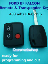 FORD BF FALCON territory complete Remote fob & Key ready for programming