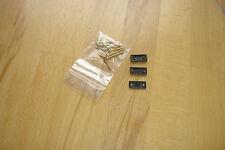 Montageset THORENS Schraubensatz 2mm,  3 Distanzplättchen (1mm  2mm  3mm)