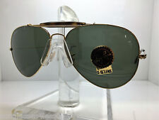 New Ray Ban Sunglasses RB 3029 181 rb3029 62MM OUTDORSMAN II GOLD TORTOISE/GREEN