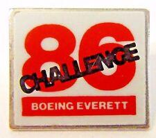 1986 CHALLENGE BOEING EVERETT tack pin