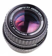Pentax - M  50 mm f 1,4 SMC  Pentax K   SN 6675177 Top Prime Lens