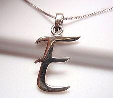 """The Letter """"E"""" Necklace 925 Sterling Silver Corona Sun Jewelry e"""