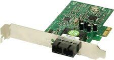 LOF OF 5 NEW Transition Network Fiber Optic Card 100BSE-FX NIC PCIE-SC L-Profile
