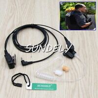 Clear Acoustic Headset/Earpiece For Uniden Radio PMR845 / PMR885 / GMR2838-2CK