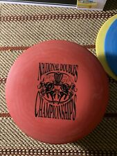 1996 Pdga National Doubles Championships Disc Golf Frisbee Viper Round Rock
