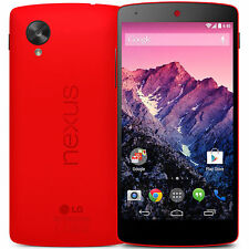 LG Google Nexus 5 D821 16GB Unlocked GSM 4G LTE Android  w/ 8MP Phone - Red